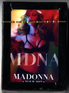 MDNA TOUR - OFFICIAL PLAYING CARDS